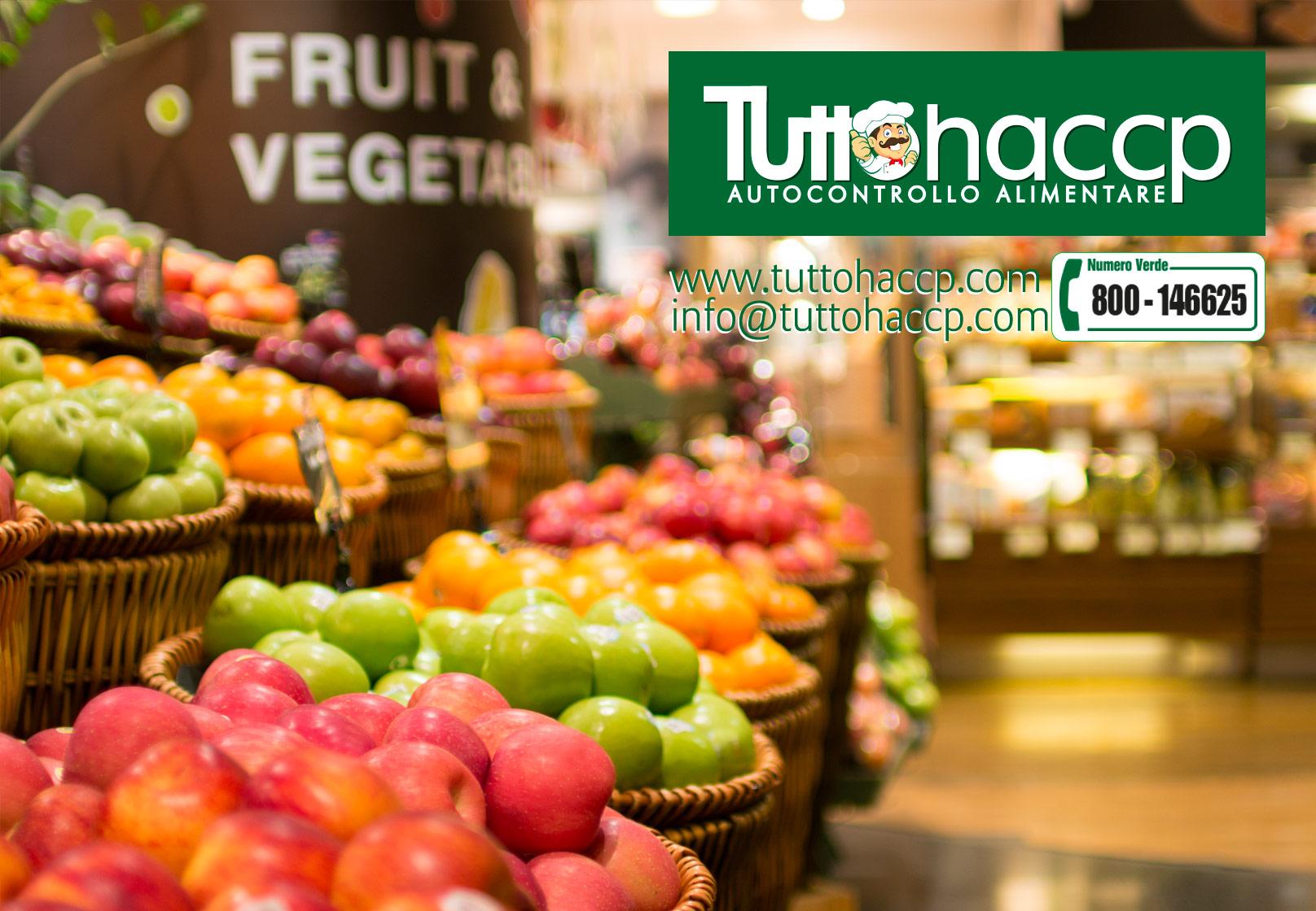 consulenza haccp per le frutterie